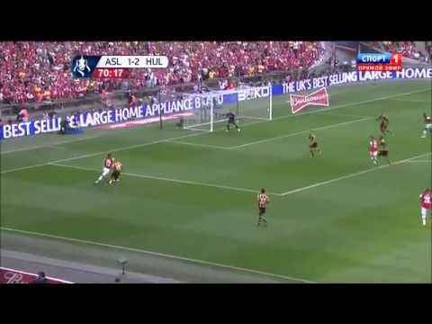 Arsenal Vs Hull 3-2 All Goals & Highlights | 17/05/2014 HD