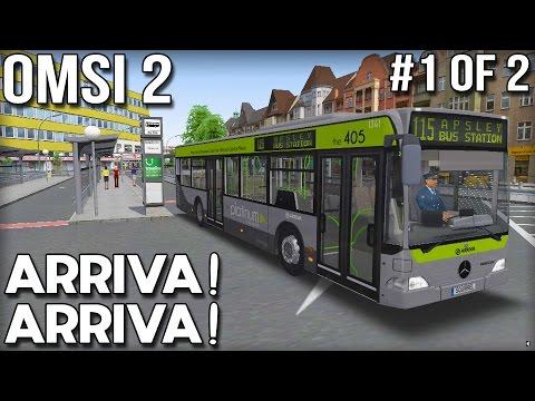 Arriva Arriva! OMSI 2 Bus Simulator (Part 1 of 2)