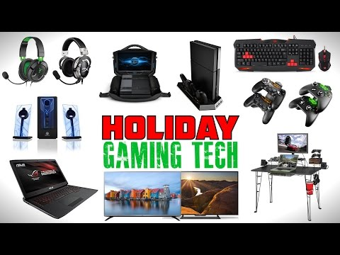 BEST Gaming Tech - Holiday Gift Guide
