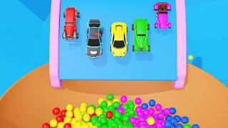 Super Cars Color Balls Pretend Play Videos for Kids Learn Colors and Numbers