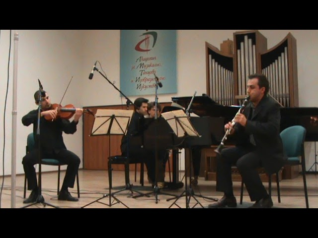 "Wolfgang Amadeus Mozart: Klarinettentrio KV 498 ""Kegelstatt-Trio"" Es Dur"