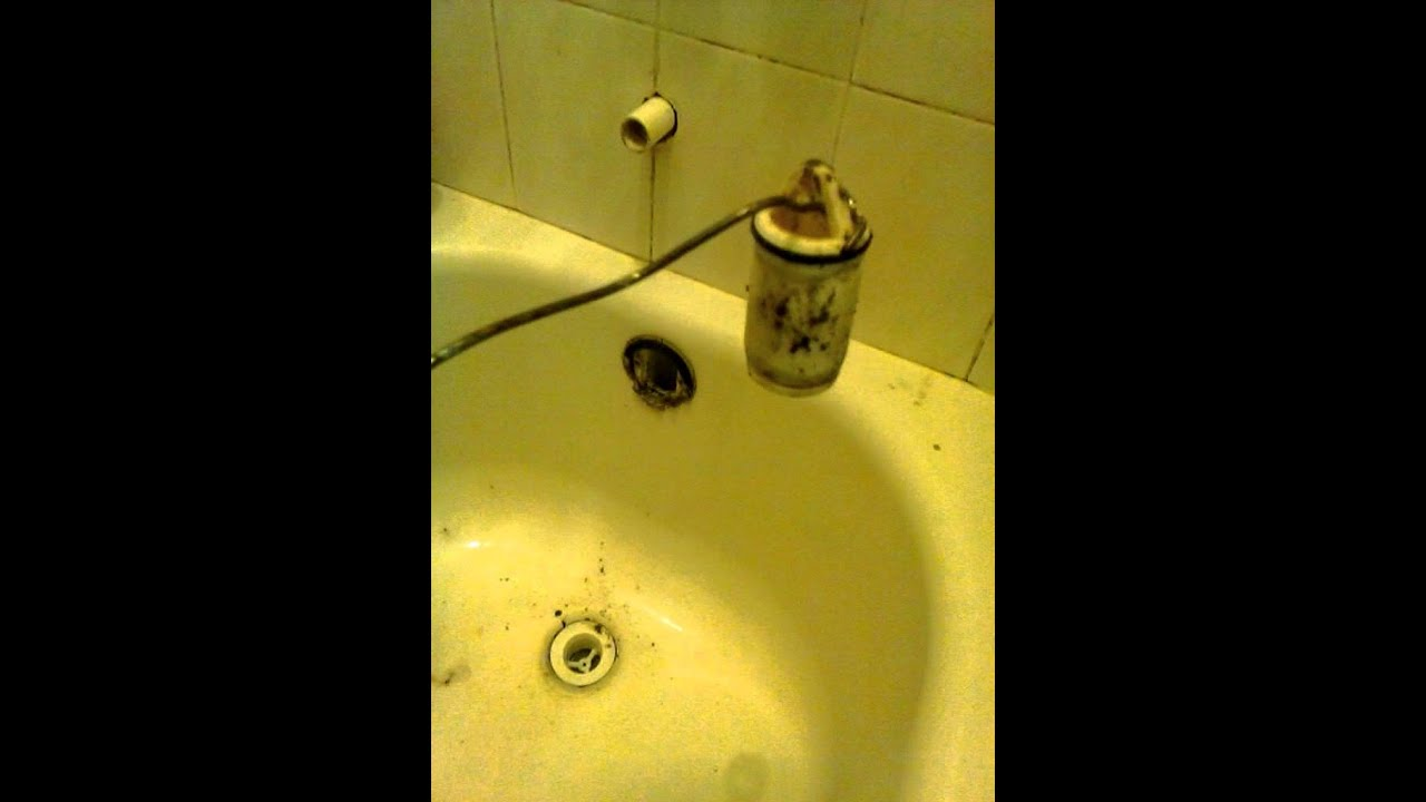 Bathtub Trip Lever Stop Linkage Broken Youtube
