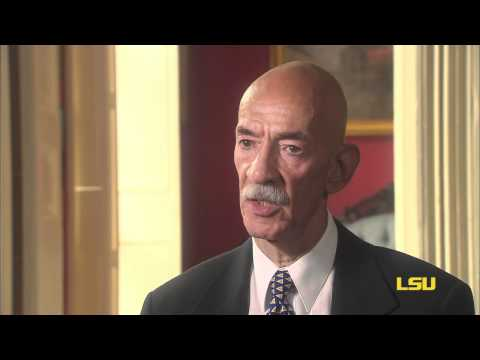 A. P. Tureaud Jr. -  Coming back to LSU (Video 5 of 5)