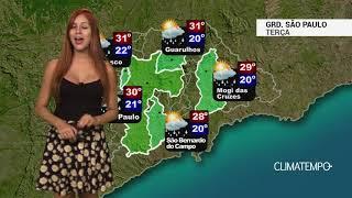 Previsão Grande São Paulo - Frente fria provoca temporais