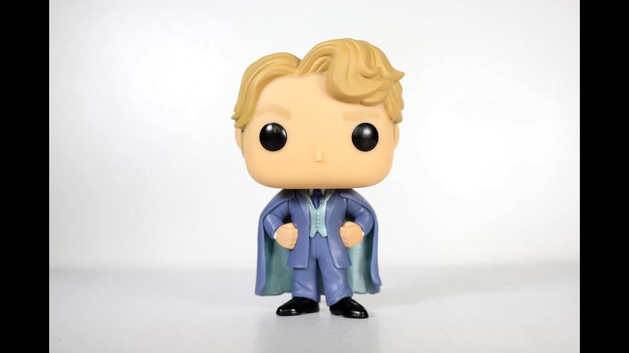 be66c09c171 Harry Potter BLUE GILDEROY LOCKHART Funko Pop review - YouTube