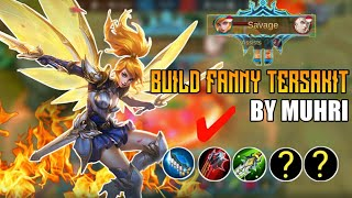 BUILD FANNY TERSAKIT 2020 | UNLIMITED ENERGY + DI JAMIN AUTO SAVAGE | MOBILE LEGENDS
