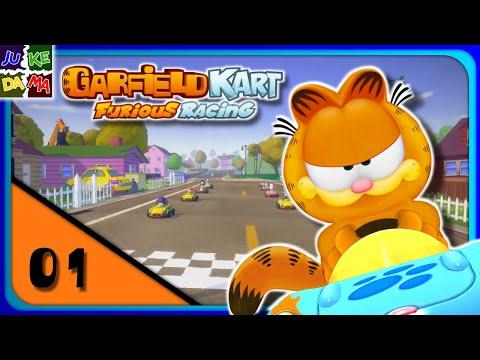 Lasagna Cup Garfield Kart Furious Racing Multiplayer Episode 1 Switch 2 Player Youtube