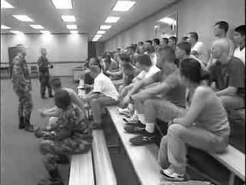 Basic Training in the Army National Guard (Part 1 of 3) - YouTube