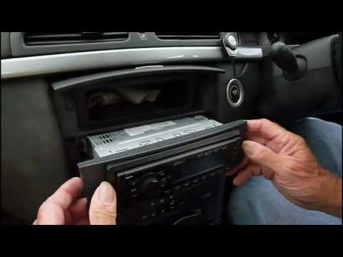 How to fit a DAB car radio.