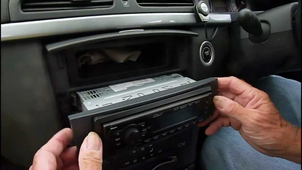 how to change a car radio