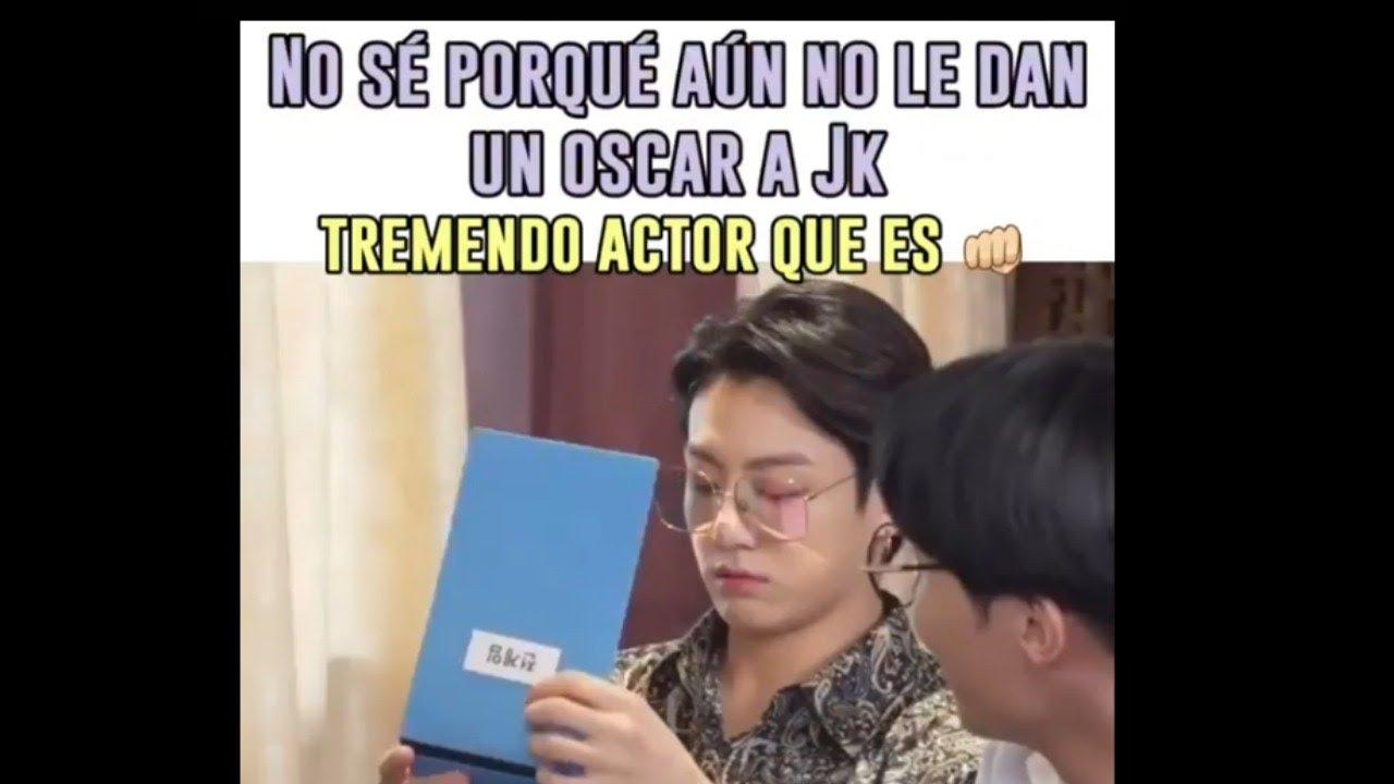 MEMES DE BTS 2021✨(EN ESPAÑOL)SI NO TE RÍES TE CASAS CON JK I!! 😎✌️