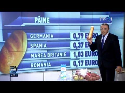 Moise Guran A Comparat Preţurile La Cinci Alimente De Bază Cumpărate Din 4 ţări
