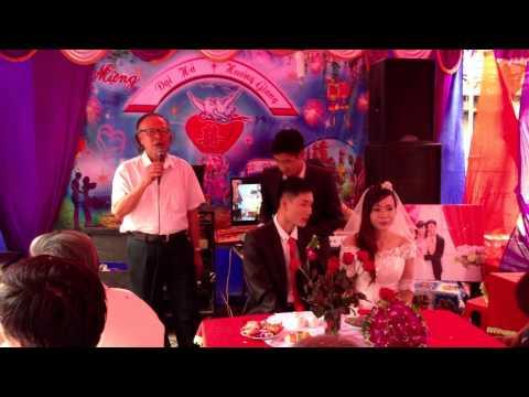 ĐÁM CƯỚI - Đại diện nhà gái phát biểu quá hay, tổ chức đám cưới