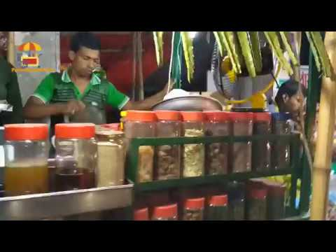 Indian Street Food Herbal Juice In Mumbai, Testy Street Food, Pure Street Food