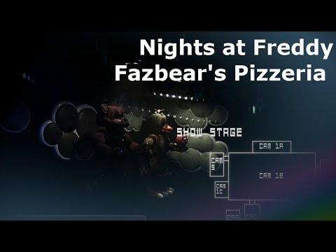 Nights at Freddy Fazbears Pizzeria FNAF Gameplay Walkthrough FULL GAME No Commentary