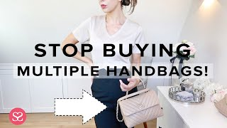 WHY YOU ONLY NEED *ONE* DESIGNER HANDBAG (And How to Buy The Right One) | Chanel Trendy CC | AD