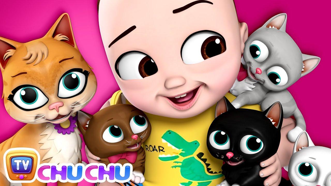 மியாவ் மியாவ் பூனைக்குட்டி (Poonai Kutty Song) - ChuChu TV Tamil Songs for Kids