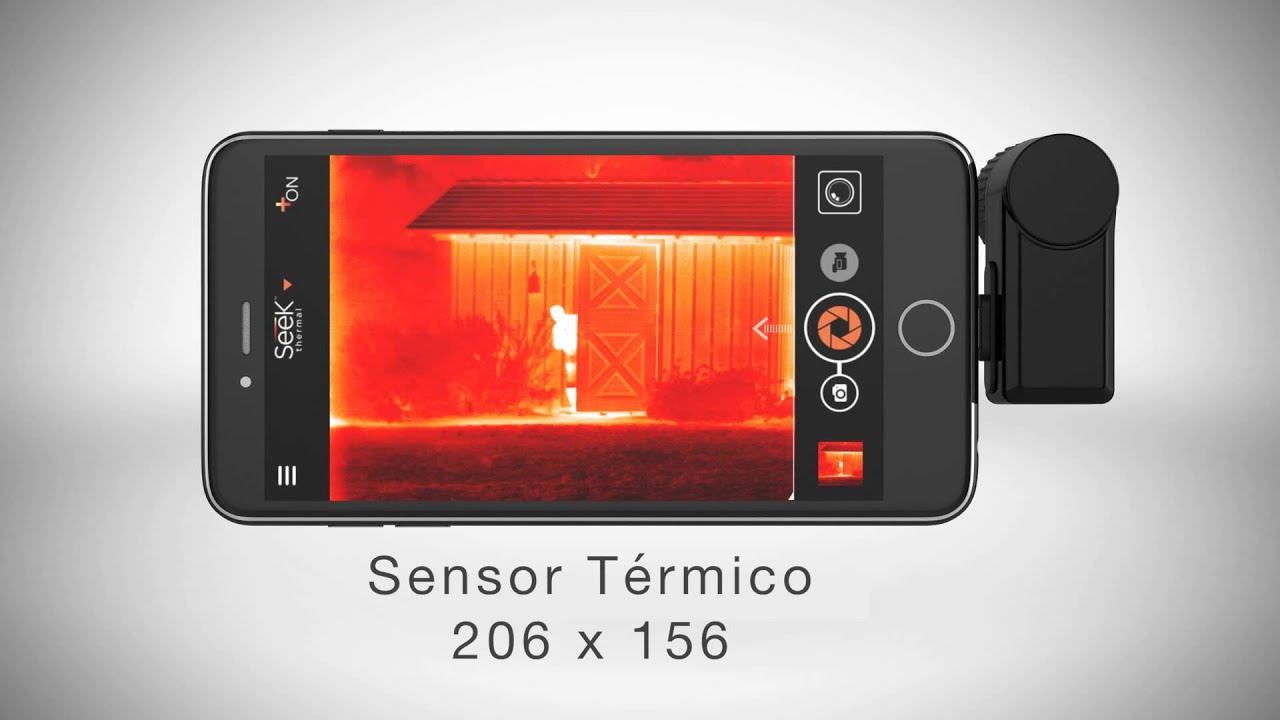 C mara t rmica seek thermal compact xr youtube - Lijadora de pared segunda mano ...