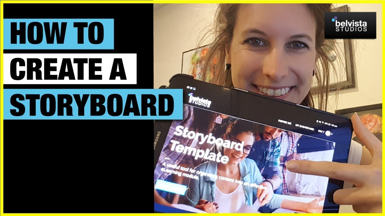 How To Create A Storyboard For Instructional Design Or Elearning Projects Youtube