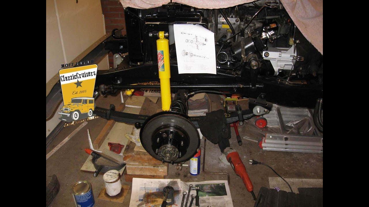 Old Man Emu >> Toyota LandCruiser BJ40 BJ42 FJ40 frame restoration - rust ...