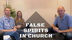 Warning about false spirits creeping into the church.