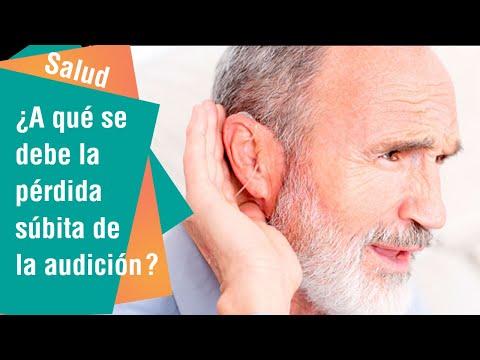 ¿A qué se debe la pérdida súbita de la audición?