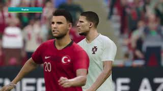 EURO 2020 GAMEPLAY SEMI FINALS PORTUGAL VS TURKEY