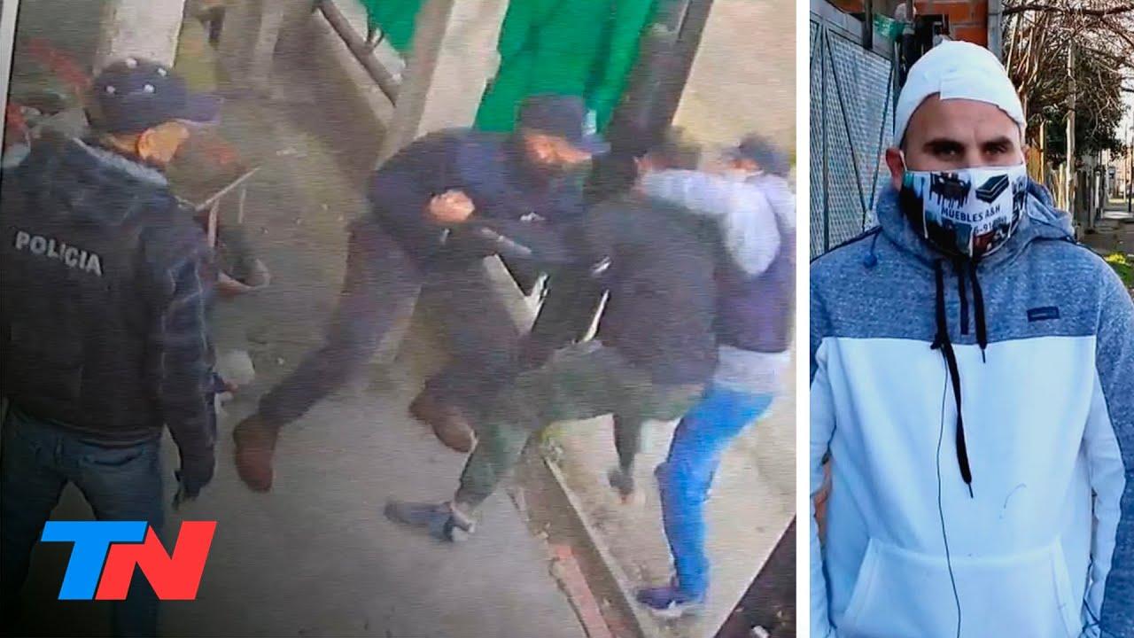 Falsos policías simularon un operativo policial para robarle y la alarma vecinal los ahuyentó