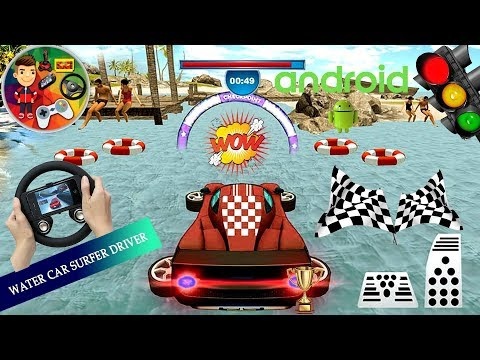 Direksiyonlu Yüzen Araba Floating Water Car Driving Simulator : Beach Racing / Floating Water Auto-