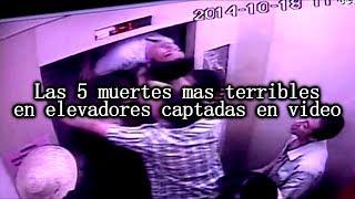 Las 5 muertes en elevadores más espeluznantes captadas en video thumbnail