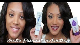 simple winter foundation routine kiss aqua bb cream