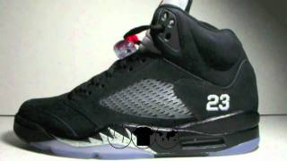Stickie213 - Air Jordan V 5 Black / Metallic 2011 Preview