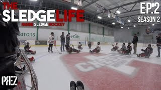 The Sledge Life - FIRST TEAM PRACTICE! Ep.2 (GoPro Hockey)