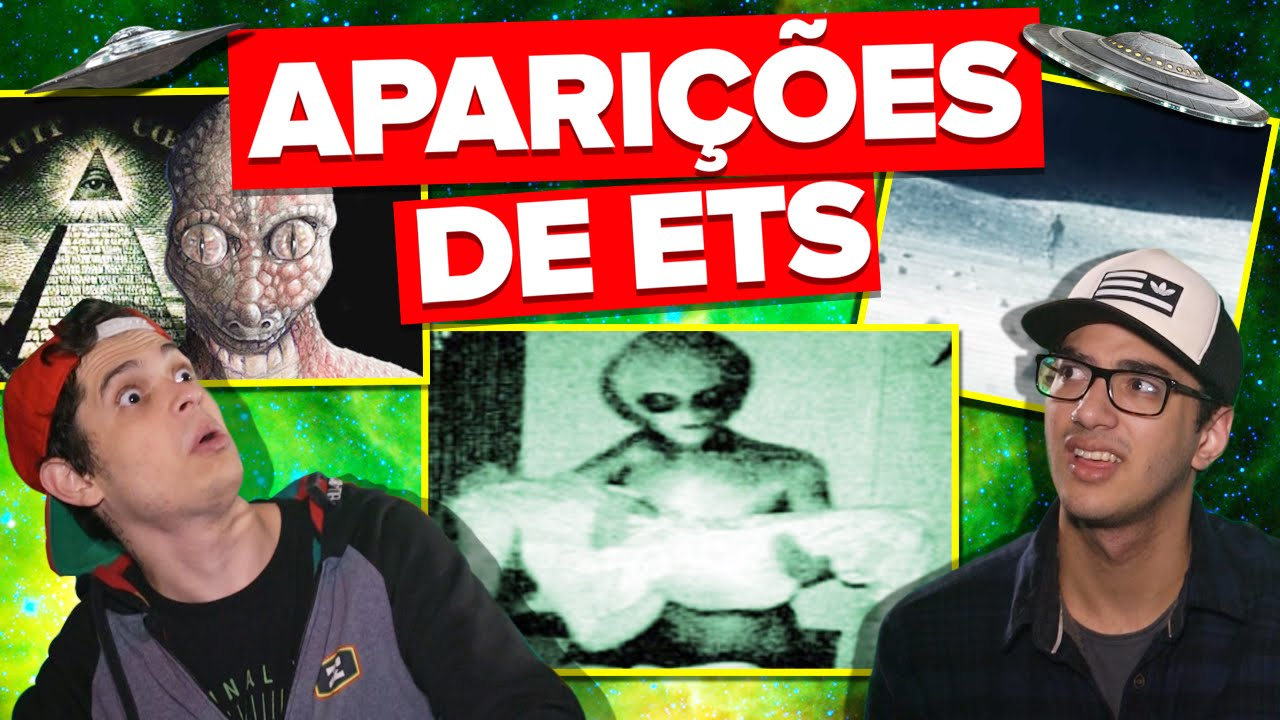 ALGUNS CASOS DE ALIENS COM VÍDEOS