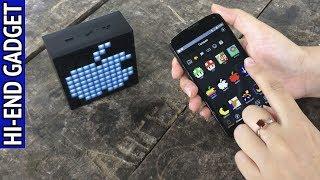 Больше, чем просто музыка. TimeBox mini - Bluetooth колонка с Aliexpress и кучей возможностей.