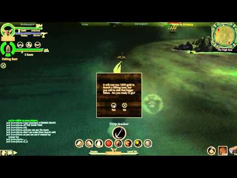Pirates Online- Launching 30 Fishing Boats At One Time