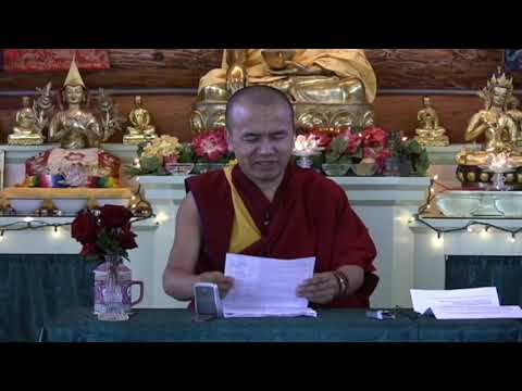24 Mental states and objects of knowledge with Geshe Dorji Damdul 10-07-08