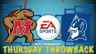 NCAA BASKETBALL 09 - THURSDAY THROWBACK