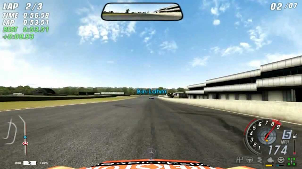 TOCA RACE DRIVER 3 VIDEO CLIPS - YouTube