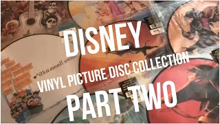 Disney Vinyl Picture Disc Collection | PART 2 | UNBOXING (COCO, MULAN, MOANA, & MORE)