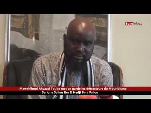 Serigne Saliou Ibn El Hadji Bara Fallilou met en garde les détracteurs de la Mouridiyyah