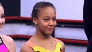 Dance Moms Nia Is On Top Of The Pyramid And Kendall Leaves Dance Moms