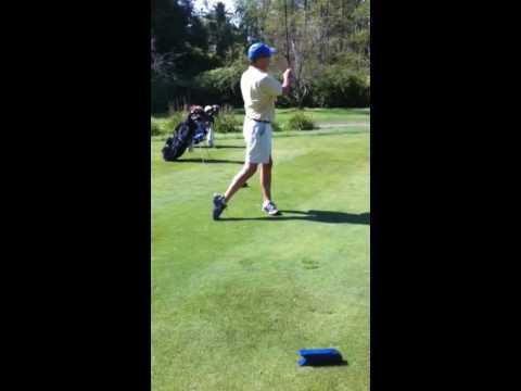 John Diekmann golf swing