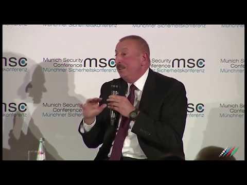 Дискуссия Ильхама Алиева и Никола Пашиняна в Мюнхене