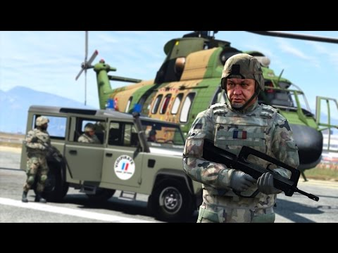 GTA 5 : Armée de Terre | Plan Vigipirate