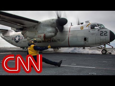 Thumbnail: Navy aircraft crash leaves 3 missing in Philippine Sea