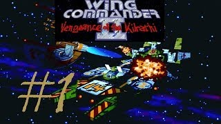 Let´s Play Wing Commander 2: Rache der Kilrathi #1 (Intro)