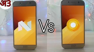 Samsung Galaxy A5 2017 Oreo vs Nougat Features Comparison