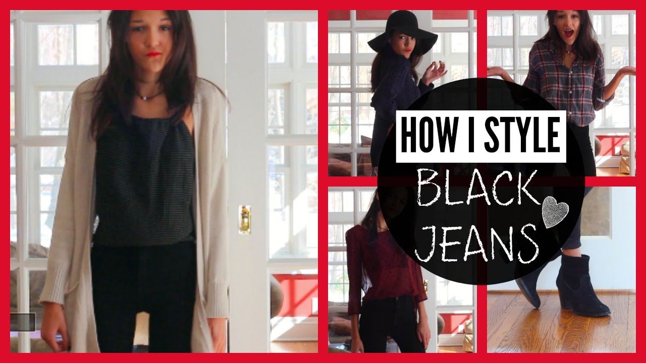 How To Style- 29 Ways to Wear Black Jeans ft Fitbay