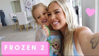 FROZEN 2 + COOK WITH US | vlog